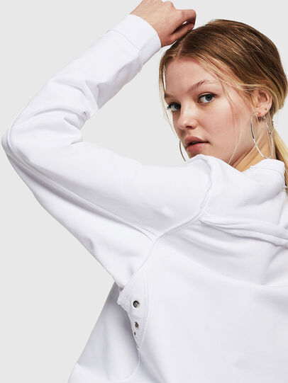 Diesel - F-LYANY-F, White - Sweaters - Image 3