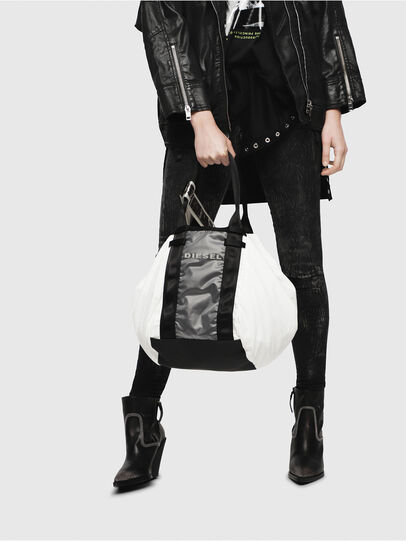Diesel - D-CAGE SHOPPER,  - Shopping and Shoulder Bags - Image 6