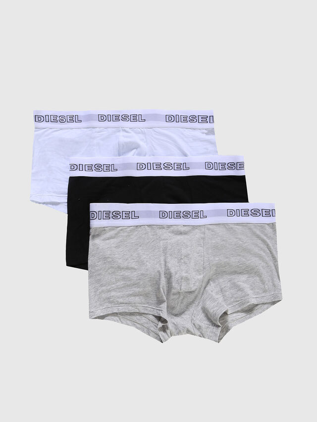 UMBX-KORYTHREEPACK, Grey melange/white