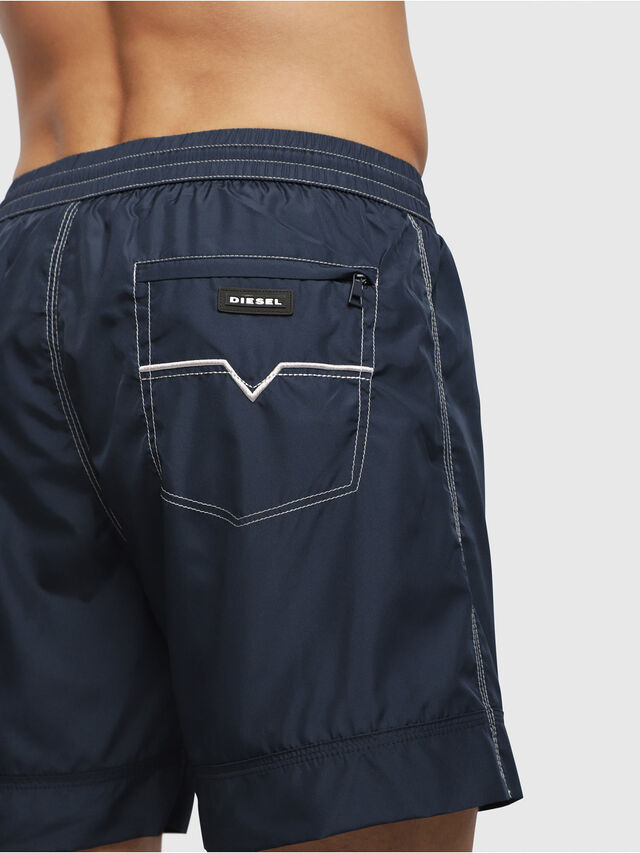 Diesel - BMBX-WAVE 2.017, Blue - Swim shorts - Image 3