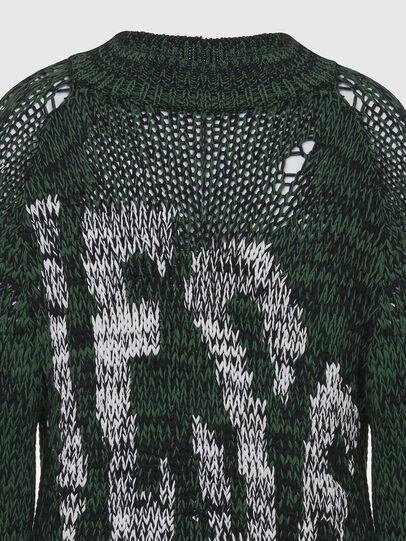 Diesel - K-FLYNN, Green - Knitwear - Image 3