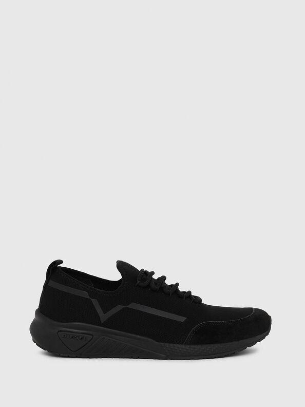 S-KBY STRIPE W, Black - Sneakers