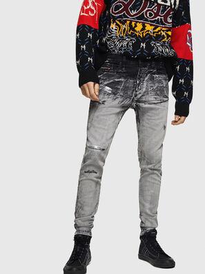 D-Reeft JoggJeans 084AH, Black/Dark grey - Jeans