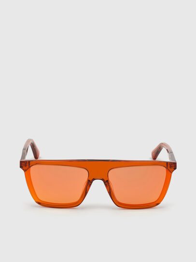 Diesel - DL0323, Orange - Sunglasses - Image 1