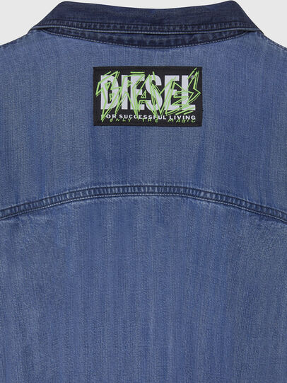 Diesel - DE-NILLA, Light Blue - Denim Shirts - Image 4