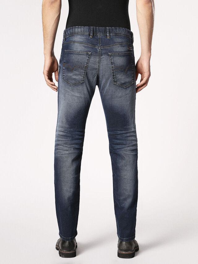 Diesel Waykee JoggJeans 0683Y, Dark Blue - Jeans - Image 3