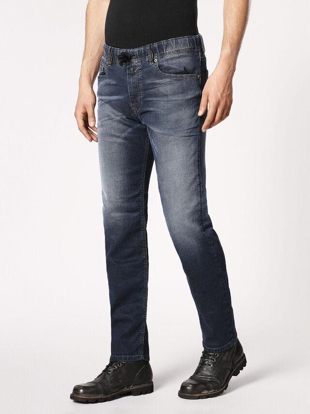 Diesel Waykee JoggJeans 0683Y, Dark Blue - Jeans - Image 7