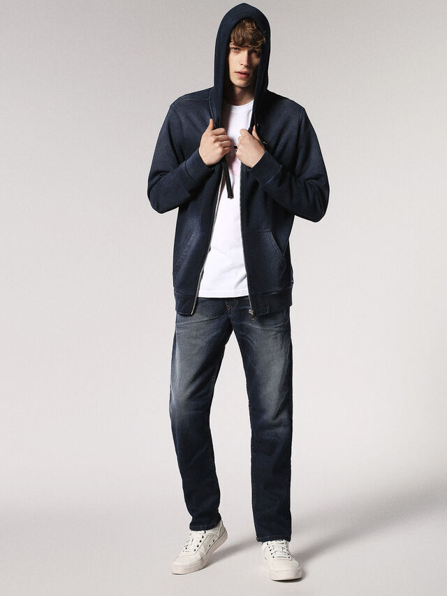 Diesel Waykee JoggJeans 0683Y, Dark Blue - Jeans - Image 5
