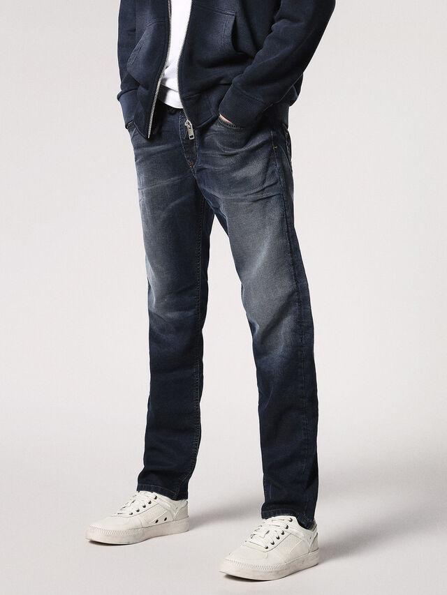 Diesel Waykee JoggJeans 0683Y, Dark Blue - Jeans - Image 1