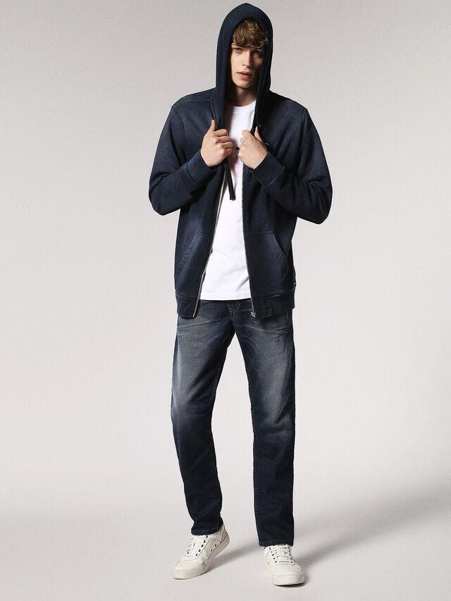 Diesel - Waykee JoggJeans 0683Y, Dark Blue - Jeans - Image 5