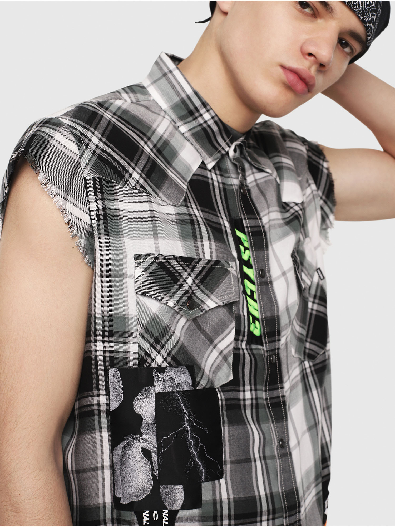 Diesel - S-EAST-LESS,  - Shirts - Image 4
