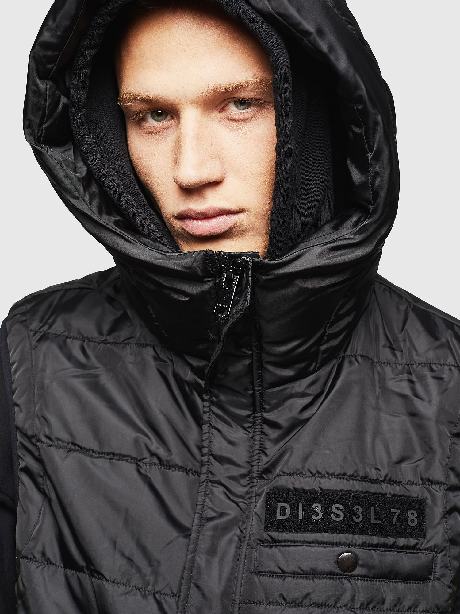 Diesel - W-SUN-REV-SLESS,  - Winter Jackets - Image 5