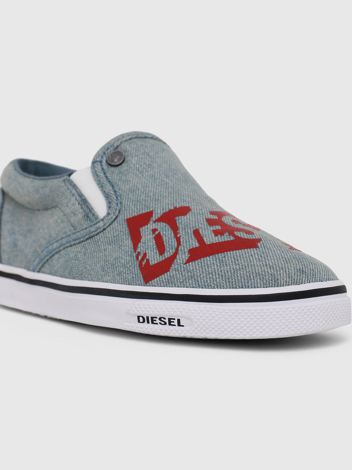 Diesel - SLIP ON 21 DENIM YO,  - Footwear - Image 4